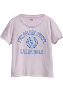Camiseta Levis The Golden State - Feminino-Roxo