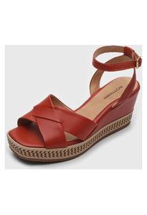 Sandália Bottero Corda Vermelha