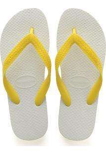 Sandálias Havaianas Tradicional Amarelo