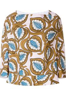Marni Blusa Oversized Estampada - Estampado
