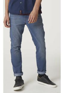 Calça Jeans Skinny Masculina Com Lavação Diferenciada