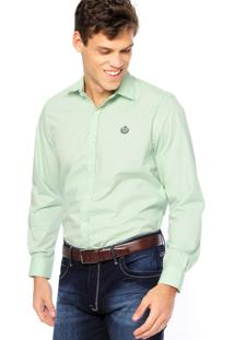 Camisa Forum Bordado Verde