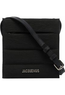 Jacquemus Bolsa Transversal Le Carré - Preto