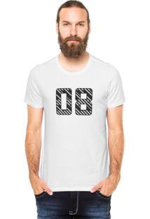 Camiseta Rgx 08 Branca