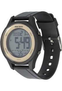 Relógio Digital Mormaii Mo6200 - Feminino - Preto/Ouro