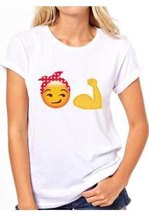 Camiseta Coolest We Can Do It With Emoji Feminina - Feminino