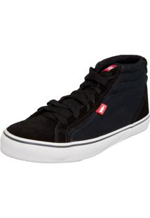 Tênis Coca Cola Shoes Darma Preto
