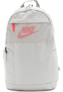 Mochila Nike Sportswear Elmntl Bkpk - 2.0 Lbr Off-White
