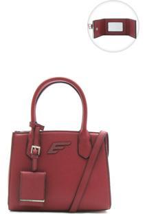 Bolsa Ellus Logo Vermelha