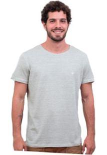 Camiseta Limits Fio Tinto Bardot Coruja Rj - Masculino-Cinza