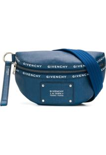 Givenchy Pochete Com Logo - Azul