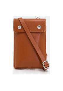 Bolsa Masculina Mini Bag   Viko   Marrom   U
