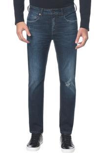 Calça Jeans Five Pockets Ckj 026 Slim - Marinho Calça Jeans Five Pockets Slim - Marinho - 46