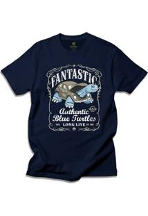 Camiseta Cool Tees Blue Turtles - Masculino