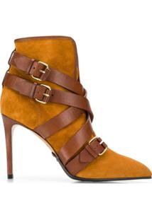 Balmain Ankle Boot Jakie - Marrom