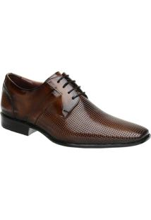 Sapato Social Malbork Em Couro Verniz - Masculino-Marrom