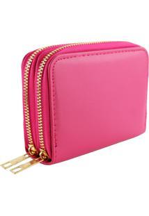 Carteira Lenna'S Ca02 Pink - Pink - Feminino - Dafiti