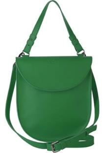 Bolsa Couro Tom21 Hera Feminina - Feminino-Verde