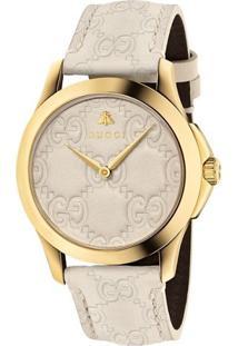 a70117ee8b6 Relógio Digital Ouro Branco feminino