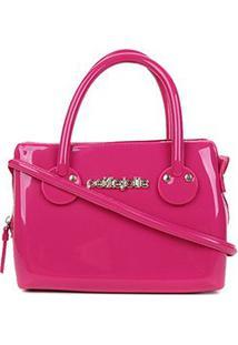 Bolsa Petite Jolie J-Lastic Mini Bag Feminina - Feminino-Pink