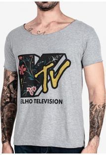 Camiseta Hermoso Compadre Velho Television Masculina - Masculino