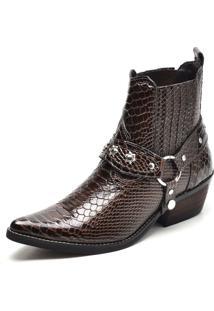 Bota Country Bico Fino Top Franca Shoes Cafe