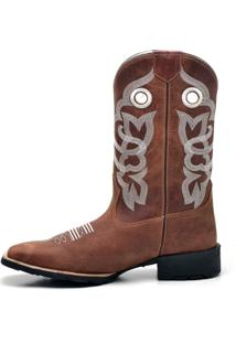 Bota Texana Capiau Confort Capiau Gel Tribal Ii Fossil