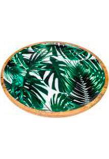 Bandeja Palmeira Verde 2X35X35 Cm