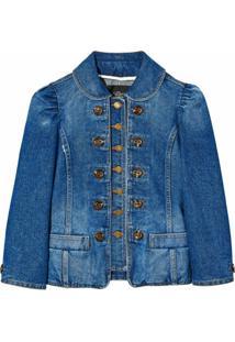 Marc Jacobs Jaqueta Jeans Com Botões - Preto