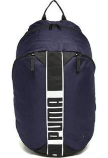 Mochila Puma Deck Backpack 2 - Unissex-Marinho