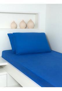 Fronha Ivvi Tex Azul Royal Adulto - Azul