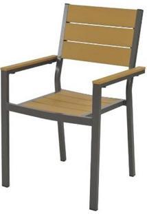 Cadeira Palmeira Amendoa Polywood 89 Cm - 60556 - Sun House