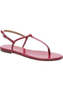 Rasteira Slim Verniz Pink | Anacapri