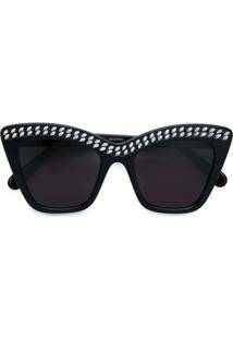 16eb995dc R$ 3873,00. Farfetch Stella Mccartney Eyewear Óculos De Sol ...