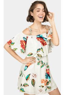 Vestido Sobreposto Estampa Colores - Lez A Lez