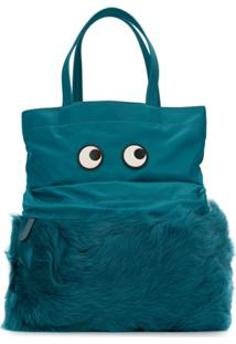 Anya Hindmarch Bolsa Tote 'Eyes' - Azul