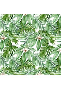 Papel De Parede Stickdecor Adesivo Floral Folhagem 100Cm L X 300Cm A - Verde - Dafiti