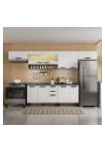 Cozinha Compacta New Jazz 11 Pt 2 Gv Off White E Freijó