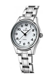 Relógio Feminino Wwoor 8805 - Prata