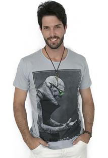 Camiseta Hunter El Tatuado Cinza