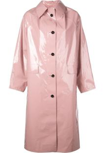 Kassl Trench Coat Oversized - Rosa