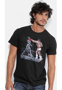 Camiseta Reserva Estampa Pixel Fight Masculina - Masculino