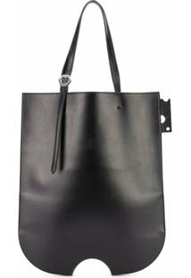 Off-White Bolsa Tote Shopper Swiss - Preto