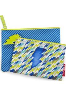 Kit Necessaire Kids Raio Skip Hop Azul