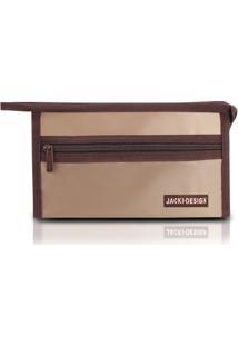 Necessaire Envelope Pequena Lisa Jacki Design Microfibra - Feminino