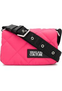 Versace Jeans Couture Bolsa Tiracolo Matelass㪠- Rosa