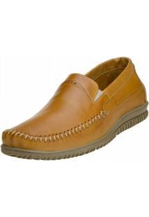 Sapato Social Clacle Latego - Masculino-Marrom Claro