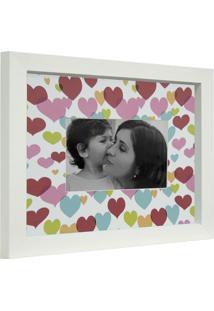 Porta- Retrato In Love 1 Foto 10X15 Branco Kapos