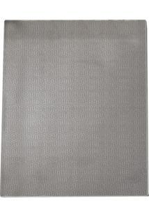 Tapete Home Tech Lab Retangular Poliéster (100X150) Cinza