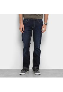 Calça Jeans Reta Zoomp Masculino Lowest Manoel Estonada Masculina - Masculino-Jeans
